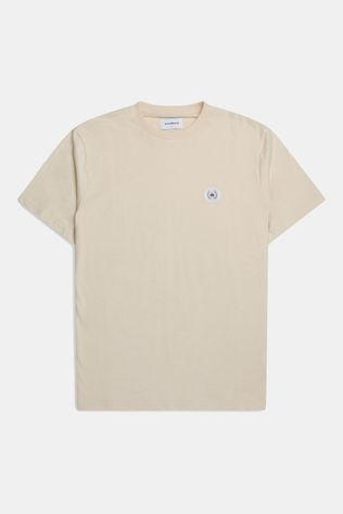 woodbird Ourganic Jarvis Patch Shirt Beige
