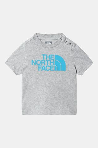 The North Face S/S Easy Tee Baby Lichtgrijs
