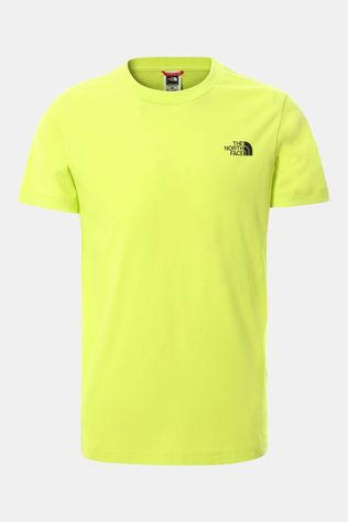The North Face Simple Dome Shirt Junior Lichtgeel