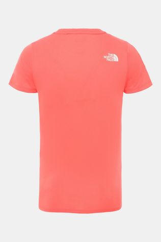 The North Face S/S Reaxion Shirt Junior Rood