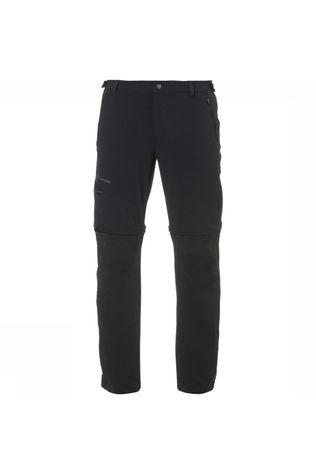 Vaude Farley Stretch T-Zip II Long Broek Zwart