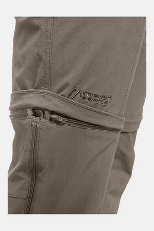 Maier Sports Tajo Long Zip Off Broek Donkerkaki