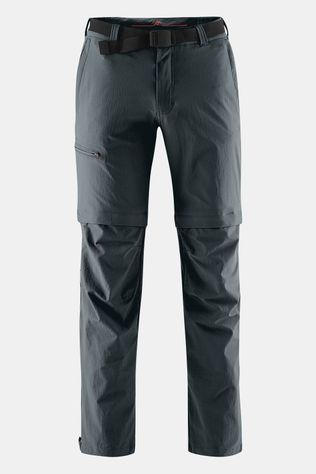 Maier Sports Tajo Long Zip Off Broek Donkergrijs