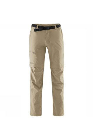 Maier Sports Tajo Short Zip Off Broek Zandbruin