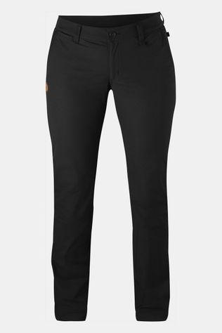Fjällräven Abisko Stretch Regular Broek Dames Zwart