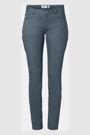 Fjällräven High Coast Stretch Broek Regular Dames Middengrijs
