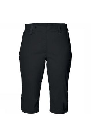 Jack Wolfskin Activate Light 3/4 Broek Dames Zwart