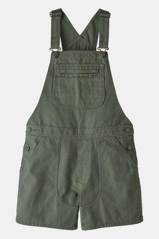 Patagonia Stand Up Overalls Dames Donkergroen