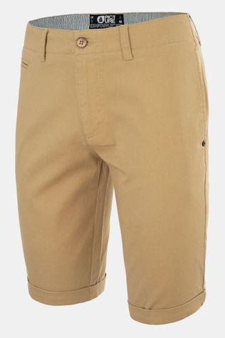 Picture Organic Clothing Waldo Korte Broek Beige
