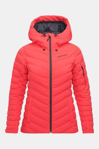 Peak Performance Frost Jas Dames Rood