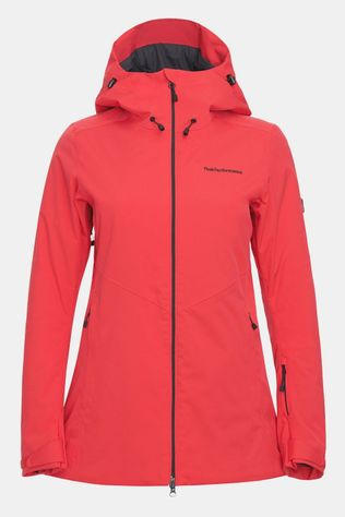 Peak Performance Anima Parka Dames Rood