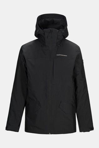 Peak Performance Maroon Long Ski-jas Zwart