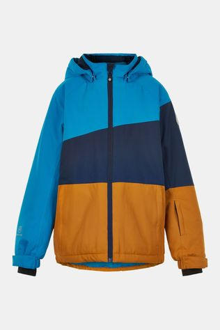 Color Kids Ski Jacket, Af 10.000 Ski-jas Blauw/Oranje