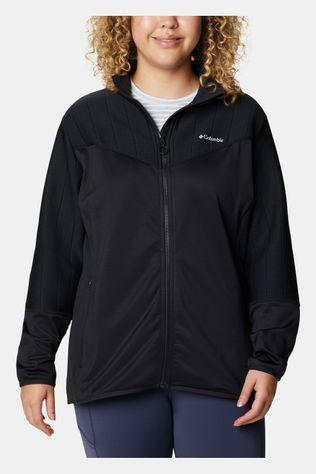 Columbia Roffe Ridge II Full-Zip Fleevest Dames Middengrijs
