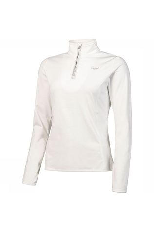 Protest Fabrizoy 1/4 Zip Top Dames  Wit