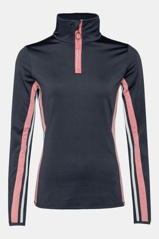 Protest Durcy 1/4 Zip Pully Dames Middengrijs