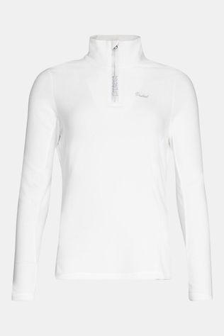 Protest Mutez 1/4 Zip Skipully Dames Gebroken Wit