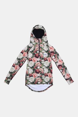 Eivy Icecold Zip Hood Top Dames Lichtrood/Ass. Bloem