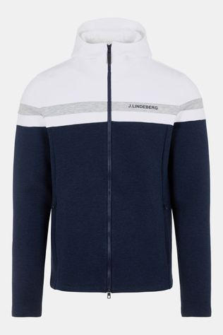 J.Lindeberg Jeff Sweater Wit/Donkerblauw