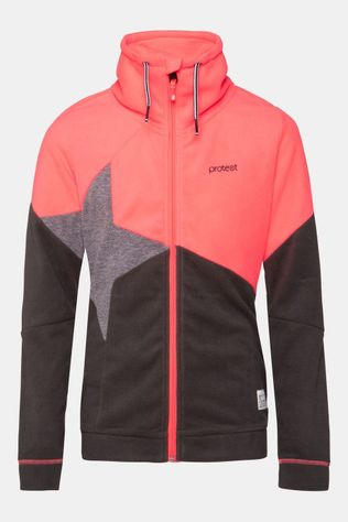 Protest Smorre Jr Full Zip Top Kids Middenroze/Lichtrood