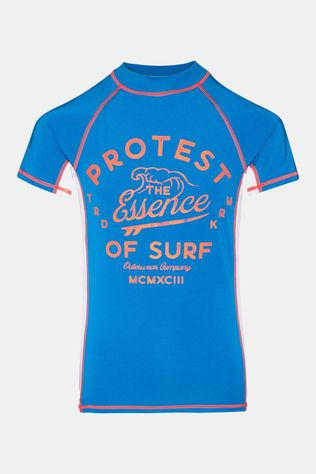 Protest Koen JR Rashguard UV Shirt Junior Middenblauw