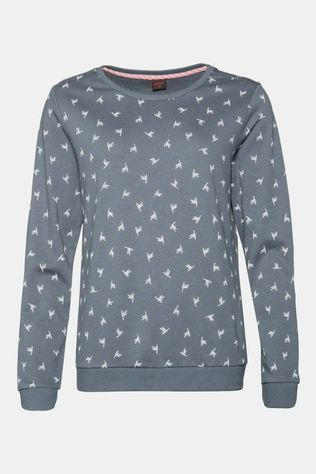 Protest Steam Sweatshirt Dames Middengrijs