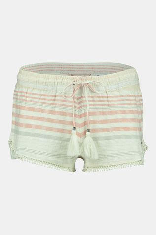 O'Neill LW Jacquard Lace Detail Shorts Dames Middengroen/Rood