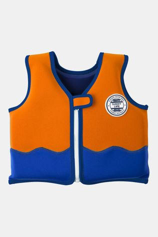 Sunnylife Float Vest 2-4 Shark Kids Oranje/Blauw