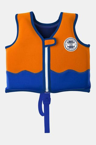 Sunnylife Float Vest 1-2 Shark Kids Oranje/Blauw