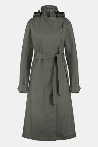 AGU Urban Outdoor Trenchcoat Long Dames Middengroen