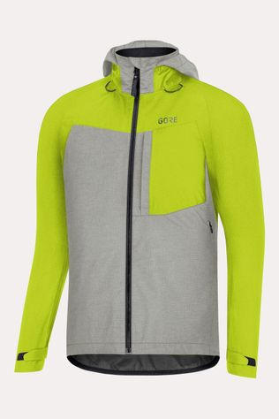 Gore Wear C5 GTX Active Trail HD Jas Zwart/Geel