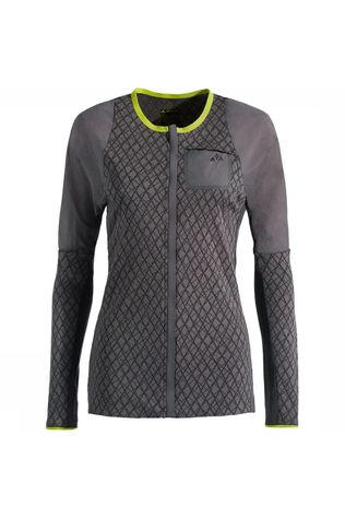 Vaude Green Core Tricot Shirt Dames Middengrijs