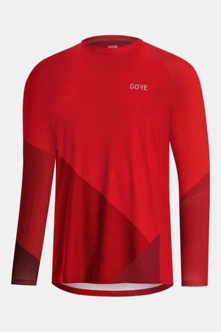 Gore Wear C5 Trail Long Sleeve Jersey Rood