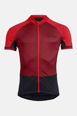Vaude Advanced FZ Tricot Donkerrood