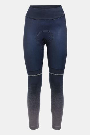 Vaude Women's Resca LesSeam Tights Donkerblauw