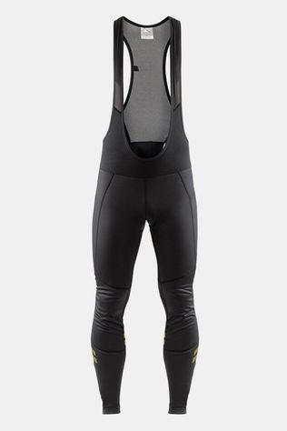 Craft Ideal Wind Bib Tights Zwart/Geel
