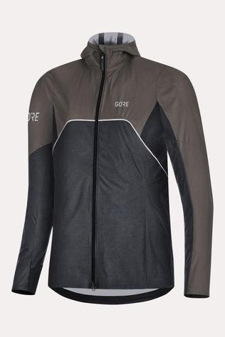 Gore Wear R7 Gore-Tex ShakeDry Tail Hooded Jas Dames Zwart/Donkergrijs