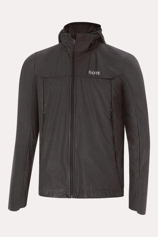 Gore Wear R5 Gore-Tex Infinium Soft Lined Hooded Jas Zwart