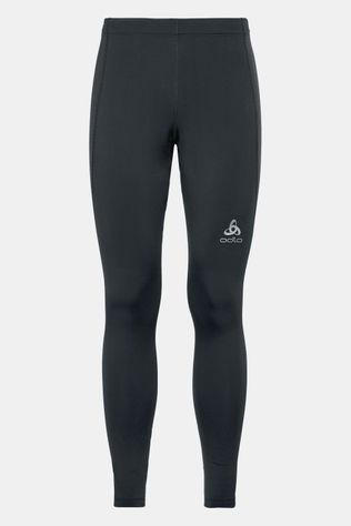 Odlo Long Core Warm Tight Zwart/Donkergrijs