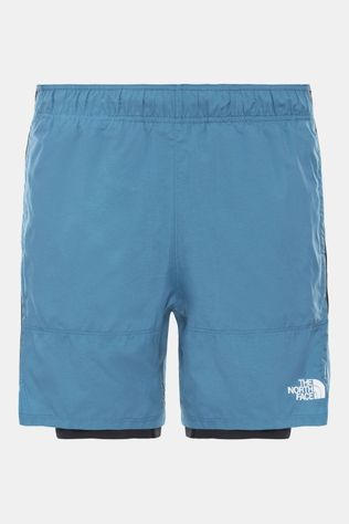 The North Face Active Trail Dual Short Middenblauw/Zwart