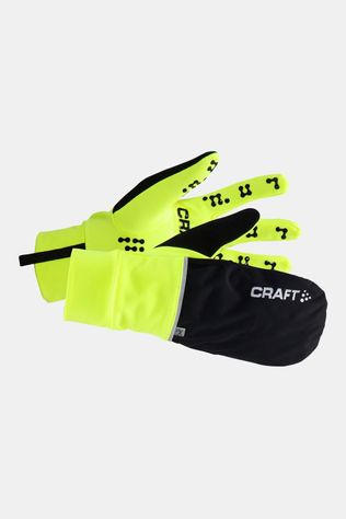 Craft Handschoen Hybrid Weather Glove Geel/Zwart