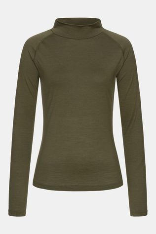 Supernatural Base Turtle Neck 175 Dames Donkerkaki