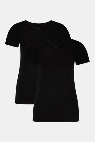 Bamboo Basics Kate T-shirt 2-Pack Zwart