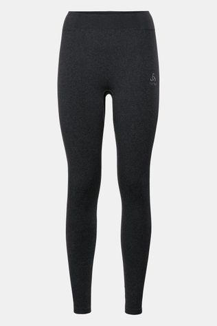 Odlo Performance Warm Legging Dames Zwart/Middengrijs