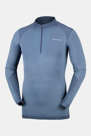 Columbia M Engineered Half Zip Donkerblauw