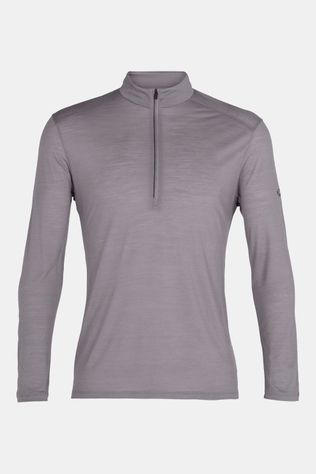 Icebreaker Amplify Long Sleeve Half Zip Shirt Lichtgrijs