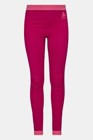 Odlo Performance Warm Legging Junior Donkerroze