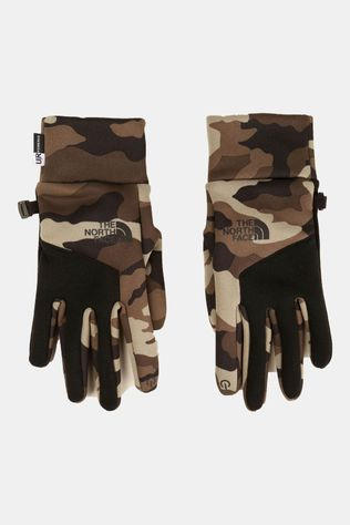 The North Face Etip Handschoen Middenkaki/Ass. Camouflage