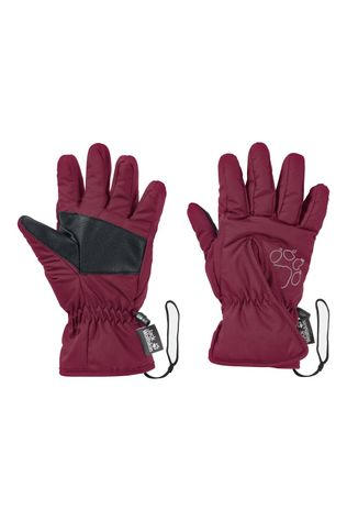 Jack Wolfskin JW EASY ENTRY GLOVE KIDS Donkerrood