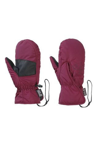 Jack Wolfskin JW EASY ENTRY MITTEN KIDS Donkerrood